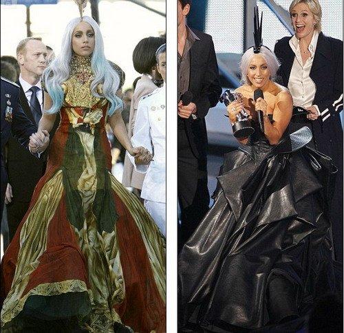 Lady Gaga肉片礼服再度引发争议 自曝打扮用意