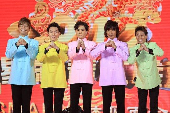 SMAP东方卫视春晚唱中文歌 期待上海开演唱会