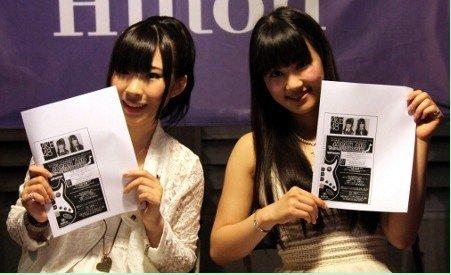 AKB48两成员在美举行慈善握手会和迷你演唱会