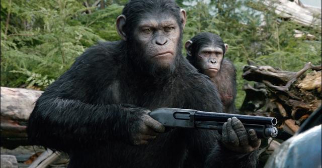 《猩球崛起2》首日收9300万 仅次《变形金刚4》