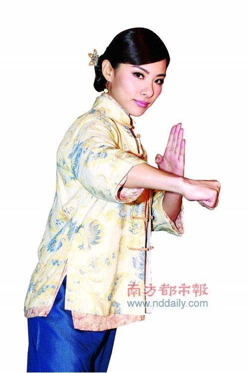 刘璇获TVB力捧做打女 《女拳》首播表现不如意