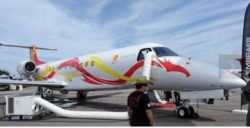 曝成龙私人飞机内景 造价2亿堪比高档会所