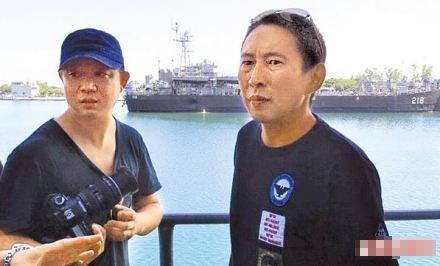 姚晨老公为拍新片冒名混入台湾军舰 或遭法办