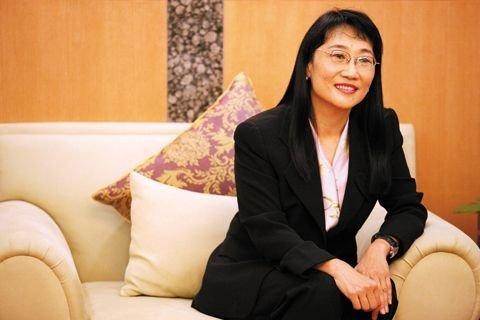 台湾首富王雪红昨日正式入主TVB(图)