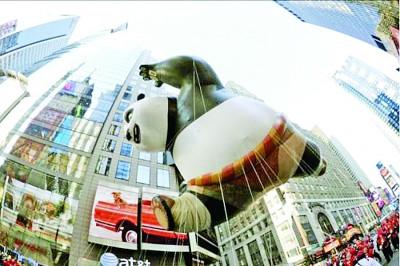 中美将合拍《功夫熊猫3》 欲在上海建主题乐园