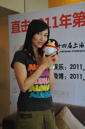独家专访国际影星陈努安姬 谈与梁朝伟合作细节