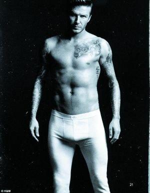 贝克汉姆裸照成明星开心源 维多利亚恶搞摸下体