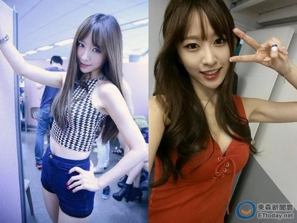 韩女团成员爆丑闻 传勾引大叔级男星搞不伦恋图片