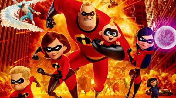 院线热映:当奶爸不比拯救世界容易,《超人总动员2》回归 看小婴儿大显独特超能力