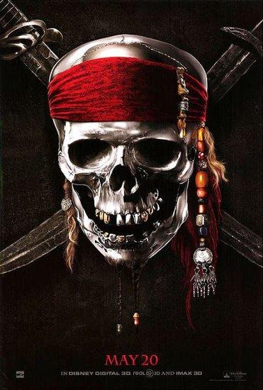 《加勒比海盗4:惊涛怪浪》首款预告海报曝光