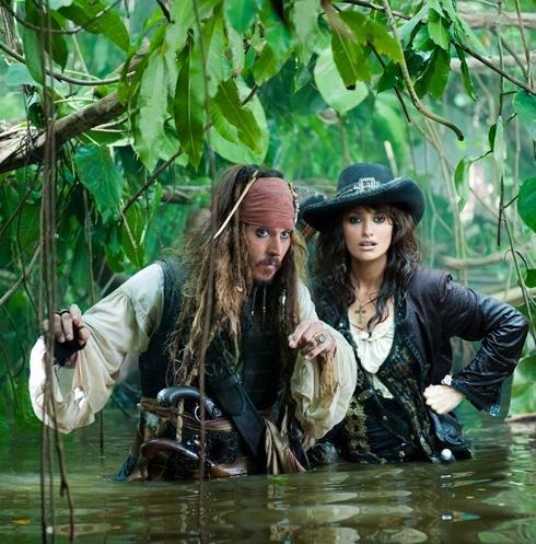 《加勒比海盗4:惊涛怪浪》发布首批剧照(组图)