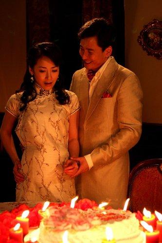 《红尘丽影》上海拍摄 韩栋陈紫函共度浪漫时光