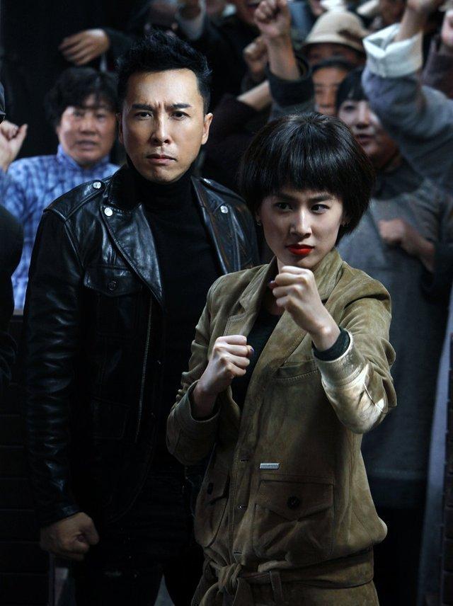 《冰封侠》黄圣依演打女 甄子丹欣赏不服输韧劲