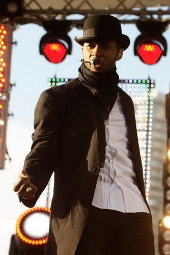 Usher携专辑登陆亚洲 神秘路线引中国歌迷期待
