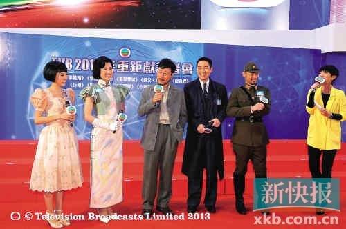 """胡杏儿为《巾帼枭雄3》站台 开心谈""""激情戏"""""""