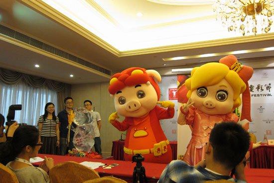 《猪猪侠》上海开发布会 初闯银幕调侃社会现