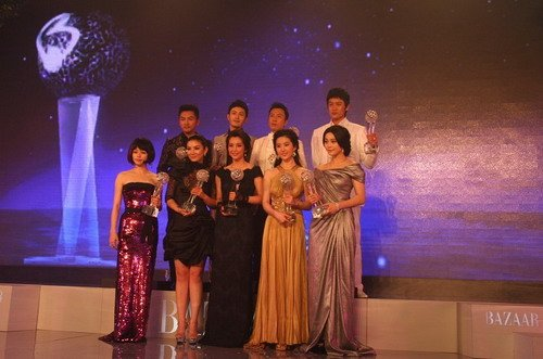 徐若瑄呼吁爱心接力 芭莎慈善夜被封明星志愿者