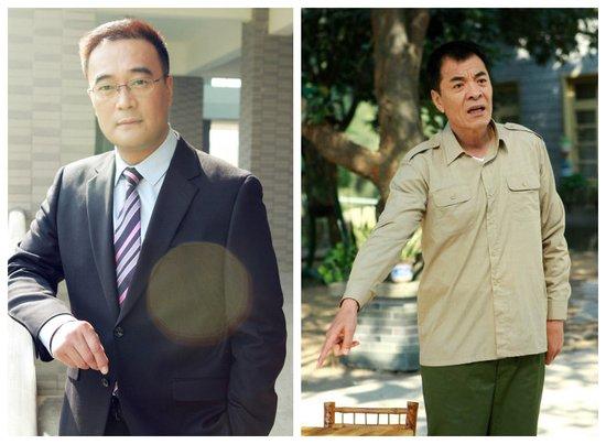 王建新刘威PK演技 两戏骨助力《我家有喜》