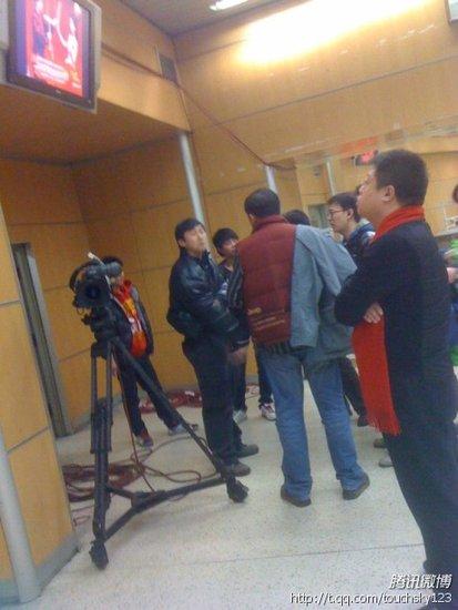 腾讯娱乐独家 直击春晚后台,马东进入紧张备战