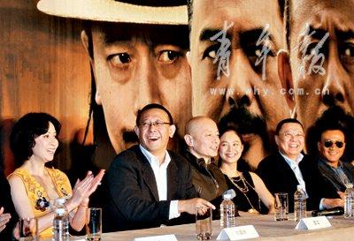 《让子弹飞》上海造势 人见人夸让姜文反不踏实