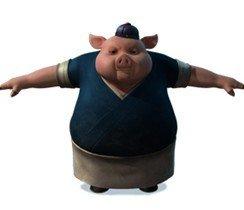 资料:国产3D动画大片《兔侠传奇》——猪大厨