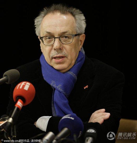 柏林电影节即将开幕 主席科斯里克召开记者会