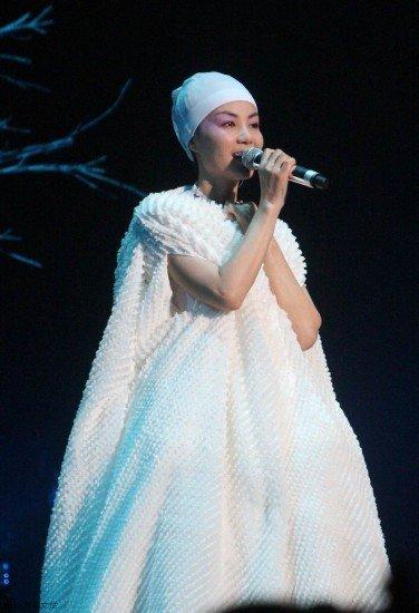 王菲上海今夜开唱 或为火灾遇难者加唱《心经》