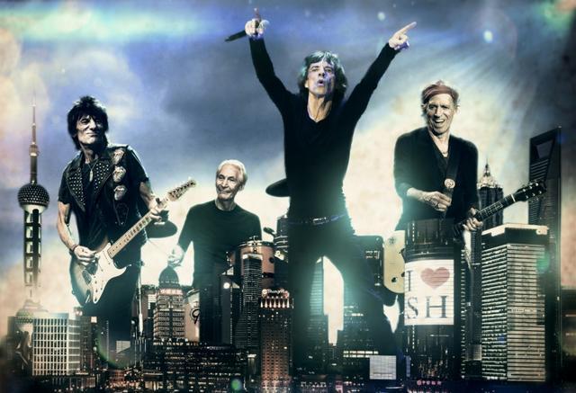 滚石乐队3月12日上海劲爆开唱 1月20日正式开票