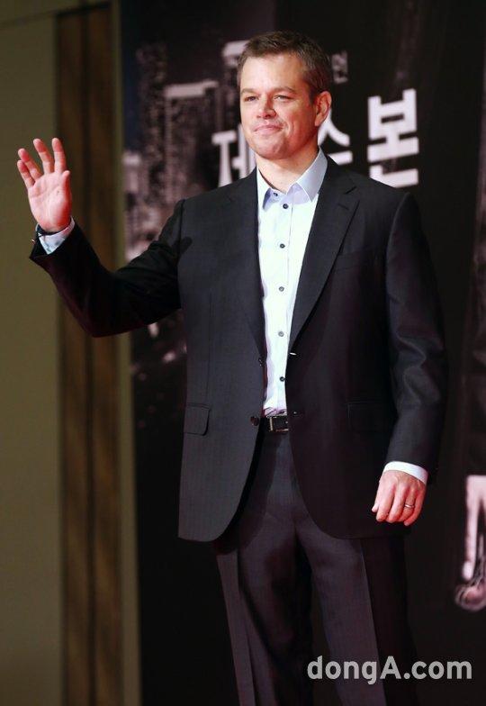 马特·达蒙称韩国电影市场在世界TOP5之内