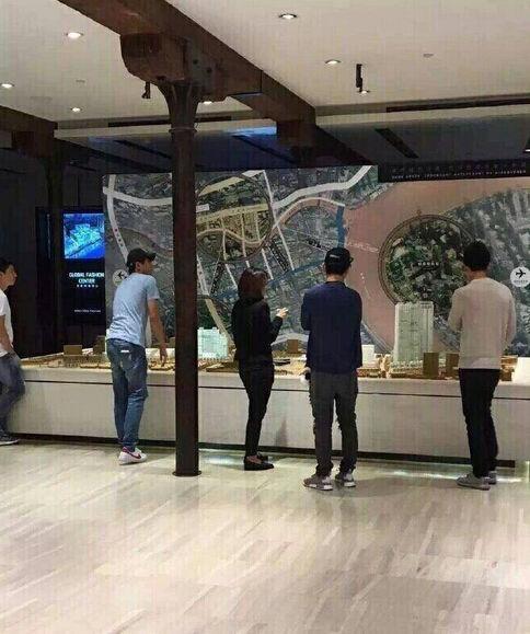 王思聪林更新被曝看房子 该楼盘售价16万一平