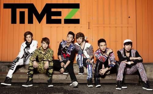 TimeZ登韩国舞台唱中文歌 李弘基现场跳万岁舞