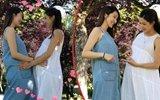 王祖蓝老婆李亚男首晒孕肚,与怀孕七个月的钟嘉欣相拥