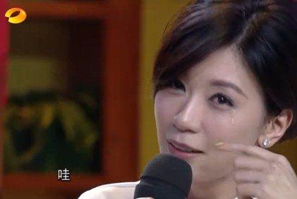 贾静雯亮相《天天向上》 上演三秒飙泪精湛演技
