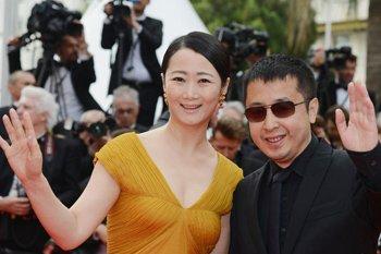 贾樟柯与赵涛亮相《搜寻》首映红毯