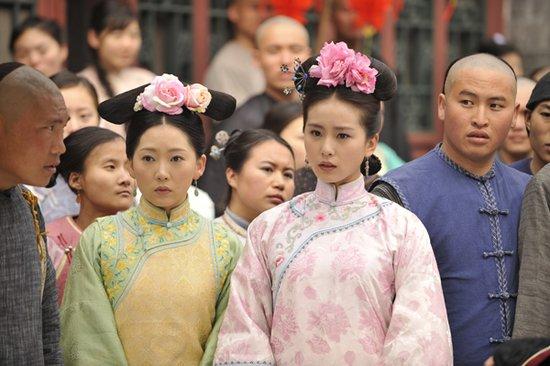 《步步惊心》刘诗诗曹馨月 戏内主仆戏外姐妹