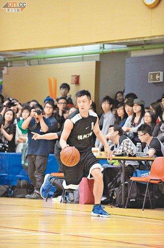 余文乐撼陈建州台湾帮 以篮球竞技爱心筹款(图)