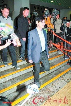 陈志云昨天轻松过堂 律师表示其仍为TVB工作