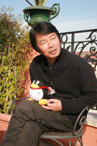专访刘震云:《一九四二》主人公就出现了35秒