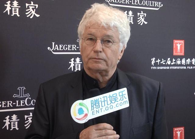 红毯专访导演阿诺:《狼图腾》里绝对都是真狼