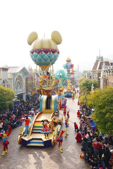 """迪士尼""""飞跃奇妙""""5周年庆 缔造完美香港游"""