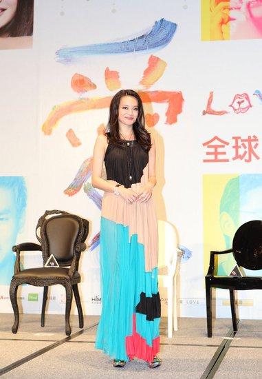 《Love》台北发布会 舒淇美艳彭于晏肉体夺冠