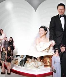 Selina三十岁生日幸福完婚 证婚人马英九致敬