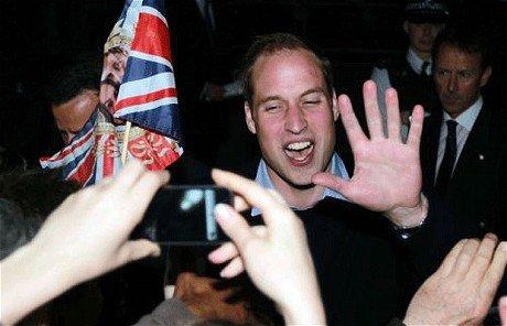 """威廉王子正式封爵 """"剑桥公爵""""成英国最高贵族"""