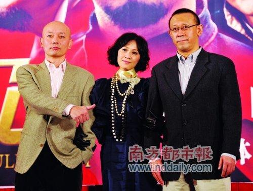 """《让子弹飞》北京首映 葛优被调侃为""""女主角"""""""