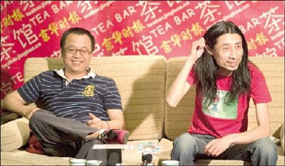 独家连线谢天笑好友卢中强:他生活健康无前科