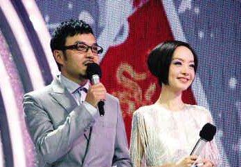 """鲁豫时隔两年重返湖南卫视主持""""汉语桥""""决赛"""