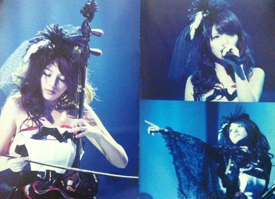 阿兰日本演唱会DVD发行 明年将拓宽海外发展