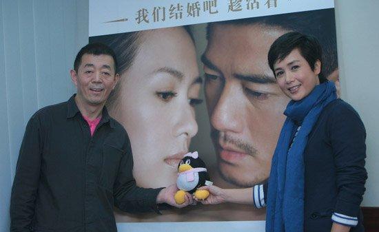 专访顾长卫、蒋雯丽:《最爱》不是一部农村片