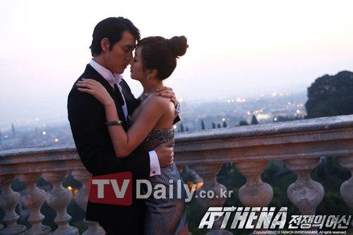 《IRIS》续集正式开机 郑宇成秀爱分享成功之吻