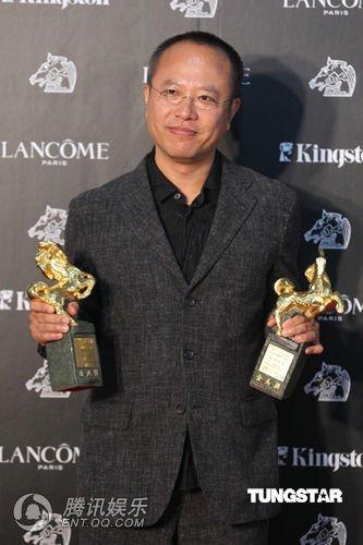 图文:金马奖颁奖礼现场 钟孟宏获最佳导演奖